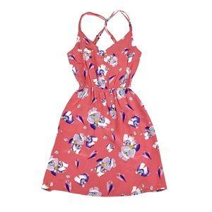 NWT Yumi Kim | Coral Floral Sheath Dress | Small